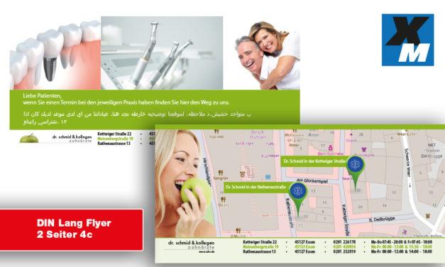 Essen | Zahnarzt Flyer drucken lassen